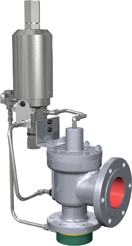 Pilot-Operated Safety Relief Valve 2900 MPV Series Consolidated*